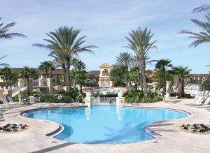 Bedroom, Week #17, Villas at Regal Palms timeshare located in Davenport, Florida, United States for sale by owner at half price.